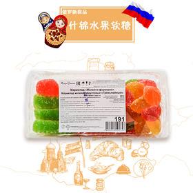 俄罗斯进口什锦水果软糖500g(满洲里互贸区直发)