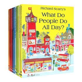 Richard Scarry Collection 斯凯瑞套装合集10册