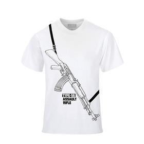 【随身带枪】轻武器印象T恤