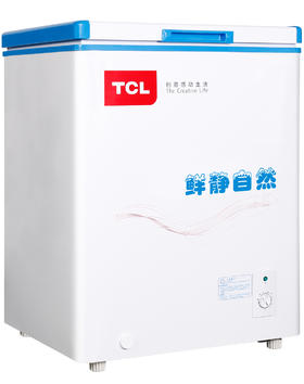 【TCL官方正品】TCL BD/BC-106HQD 106升 冷藏冷冻冷柜 冰柜 口碑力荐!冻藏转换,冻力十足;金属箱体,皮实保温耐用。