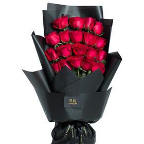 追爱 | 顺丰速递 | 送保鲜液 | 顶级卡罗拉红玫瑰