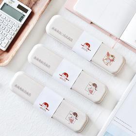 韩国创意马口铁文具盒   文具