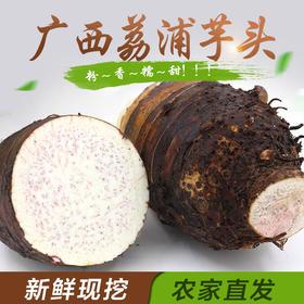 广西荔浦芋头 皇室贡品 农家自种 新鲜现挖广西特产 槟榔香芋5斤装