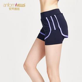 安芳维丝 优选运动短裤 两层防走光设计 14957120