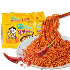 韩国芝士味辣火鸡方便面140g