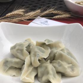 手工韭菜鲜肉水饺(10个)