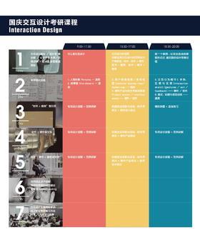 国庆交互设计考研工作坊