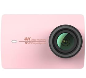 小蚁(YI)4K运动相机(玫瑰金)智能摄像机