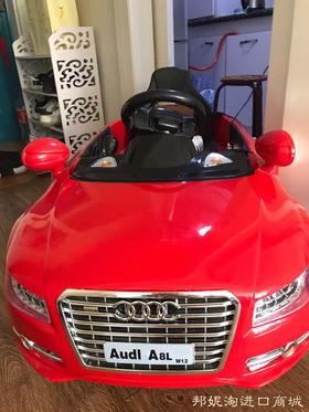 【闲置转让已售】奥迪A8L儿童电动车四轮电动宝宝玩具车可坐人儿童电动汽车
