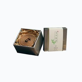 茶语丨祛湿安神的艾草沉香