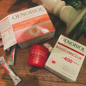 [法国原装]OENOBIOL欧诺比 400减脂胶囊/三合一绿茶燃脂纤体茶