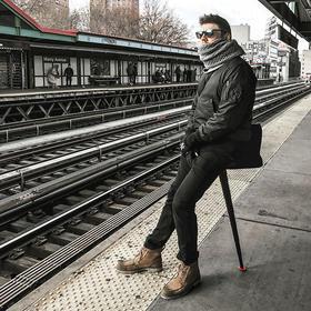 丹麦折叠凳,坐地铁/排队/户外神器