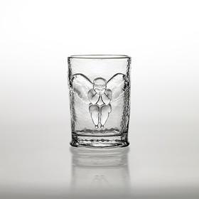 稀奇艺术玻璃杯果汁杯天使浮雕搭配精美礼物包装