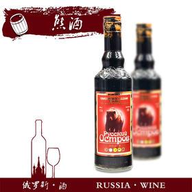 俄罗斯进口熊酒500ml(满洲里互贸区直发)