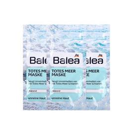 balea德国balea芭乐雅死海泥矿物去角质深层清洁面膜2*8ml