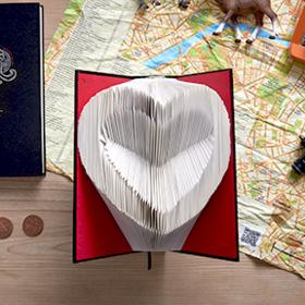 本子也是艺术品?3D折纸笔记本,能折七种图案