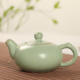 汝窑茶壶/盖碗