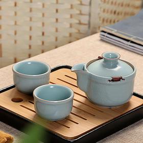 汝窑 便携旅行茶具套装(4种款式)