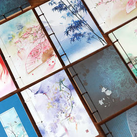 瑕疵本特价处理 中国风复古典线装本子 古风通用笔记事本学生文具