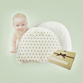 梦可儿0-5个月蒙稷塑型枕防顶落枕婴幼儿防偏头夏凉枕包邮
