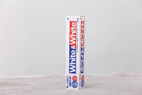 【日本进口】狮王LION white&white美白牙膏 150g*6支 薄荷味快速美白牙齿