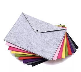 毛毡布A4高品质文件袋苹果MAC电脑包