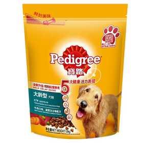 宝路 7岁以上大龄犬 牛肉、鸡肉、肝、蔬菜谷物配方(1.8公斤)