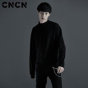 CNCN男装 品牌字母长袖T恤 男宽松圆领卫衣CNCT39040