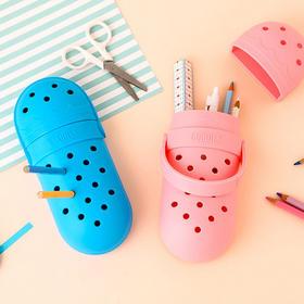 韩国制造 GOODILS洞洞鞋文具盒笔筒 开学季送小朋友礼物