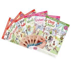 英国品牌 Scribble Down原创儿童手工刮刮乐  DIY刮画 贴纸画