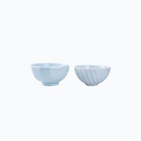 质造丨青白釉 芭蕉小厚碗