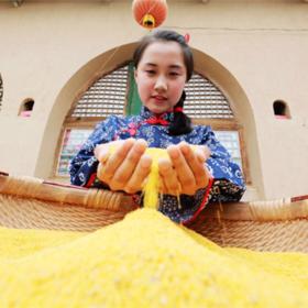 陕北米脂小米 农家生态月子米 养胃养颜 现磨现发 5斤装包邮