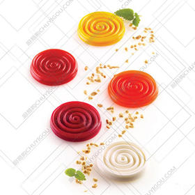 最新米其林创意美食模具[荡漾]制作各种创意美食菜品汁水融入式创意/创意模具