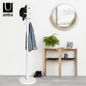 加拿大umbra派拉简易衣帽架 卧室简约现代实木欧式创意落地衣架