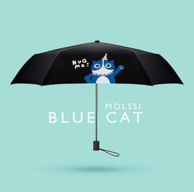 """MOLSSI-""""宠""""上天系列黑胶伞/晴雨伞"""