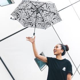 MOLSSI-FLABJACKS合作款-胖村、I CAN黑胶伞