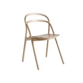 瑞典【Hem】自然木色乌冬椅