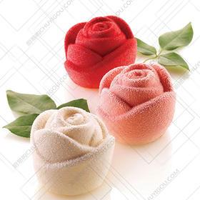 米其林最新创意【玫瑰】模具6孔入