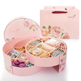 台湾宏亚礼坊永恒之恋糖果饼干礼盒
