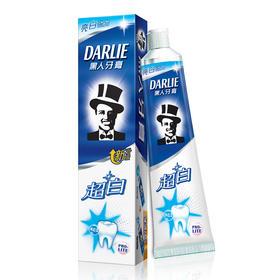 黑人超白牙膏90g