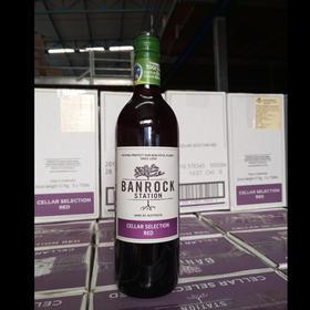 澳洲原装进口红酒 班洛克酒窖精选红 超市有售