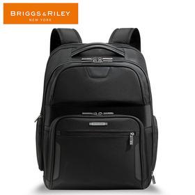 BRIGGS&RILEY黑色商务休闲公文包双肩背包商务旅游双用双肩包
