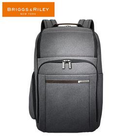 BRIGGS&RILEY蓝色/灰色商务系列休闲双肩包大号时尚双肩包