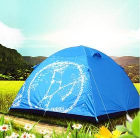 猎户座-户外star系列3-4人撑杆露营家庭野营沙滩休闲保暖防风帐篷