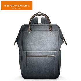 BRIGGS&RILEY蓝色/灰色商务系列休闲双肩包时尚双肩包