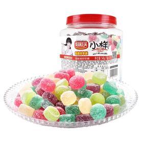 好彩头小样酸q糖540g罐装水果汁软糖 儿童糖果礼物