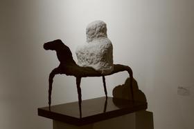 权氏-1 / 汉白玉、花岗岩、铜 / 50X58X22cm / 2009