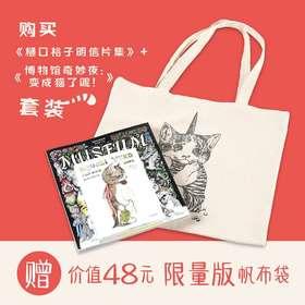 《樋口裕子明信片集》+《博物馆奇妙夜:变成猫了呢!》