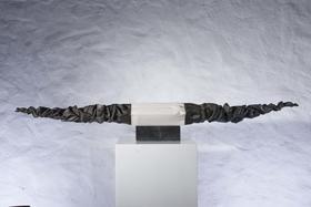 演义 / 汉白玉 、铜、花岗岩 /  21X152X13cm / 2008
