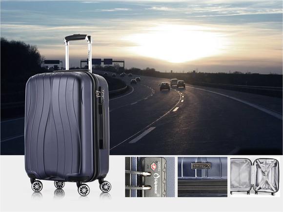 外交官时尚行李箱 DS-15292蓝色 (蓝色)